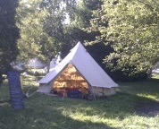 Bell Tent at Womad